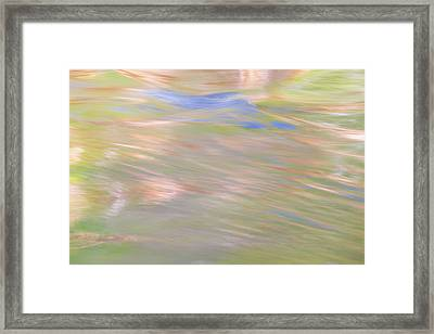 Merced River Reflections 20 Framed Print by Larry Marshall