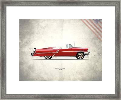 Mercury Montclair 1954 Framed Print by Mark Rogan