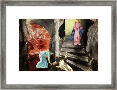 Mercy Framed Print by John Haldane