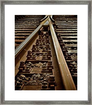 Merge Framed Print by Odd Jeppesen