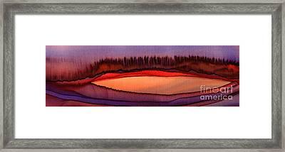 Merging Forces Framed Print by Addie Hocynec