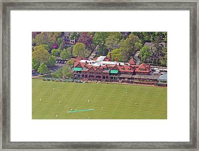 Merion Cricket Club Cricket Festival Clubhouse Framed Print by Duncan Pearson