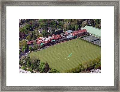 Merion Cricket Club Picf Framed Print by Duncan Pearson