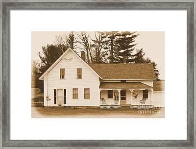 Merrill - Marquis Farm Framed Print by Joseph Marquis