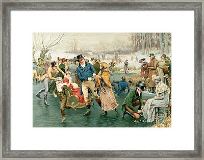 Merry Christmas Framed Print by Frank Dadd