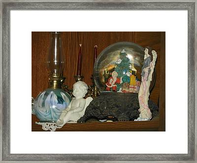 Merry Christmas Framed Print by Laurie Kidd