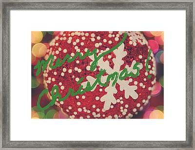 Merry Christmas Framed Print by Laurie Search