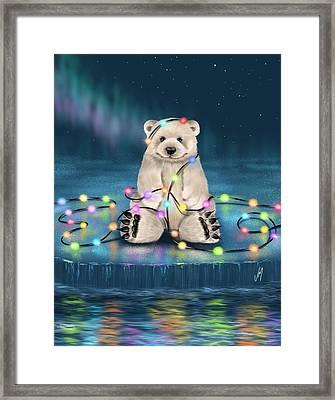 Merry Christmas  Framed Print by Veronica Minozzi