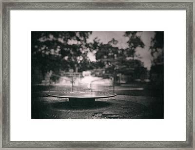 Merry Go Round Framed Print by Scott Norris