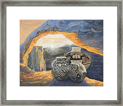 Mesa Arch Magic Framed Print by Jerry McElroy