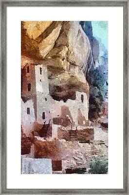 Mesa Verde Framed Print by Jeff Kolker