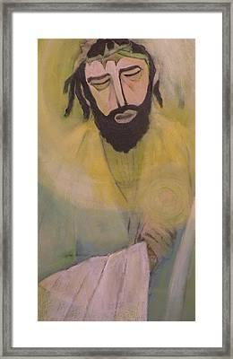 Mesiah Framed Print by Robert Daniels
