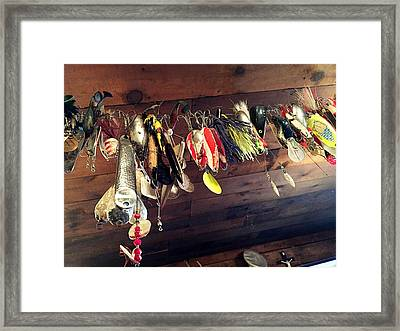 Mess Of Fish Framed Print by Lori Knisely