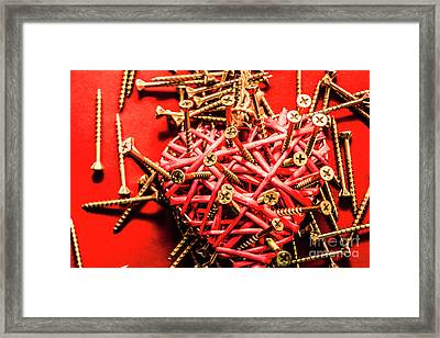 Messy Love Framed Print by Jorgo Photography - Wall Art Gallery