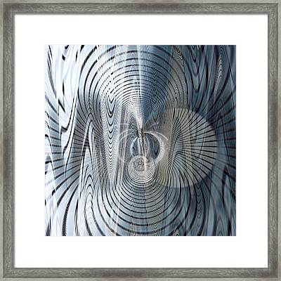 Metal Space 6 Framed Print by Philip Openshaw