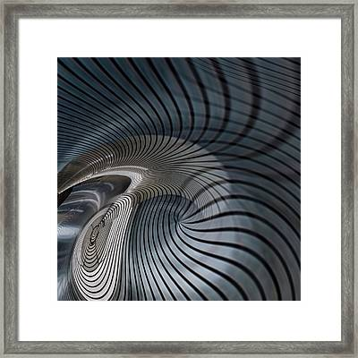 Metal Space 7 Framed Print by Philip Openshaw
