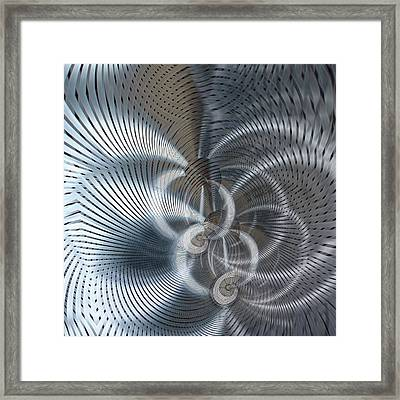 Metal Space 8 Framed Print by Philip Openshaw