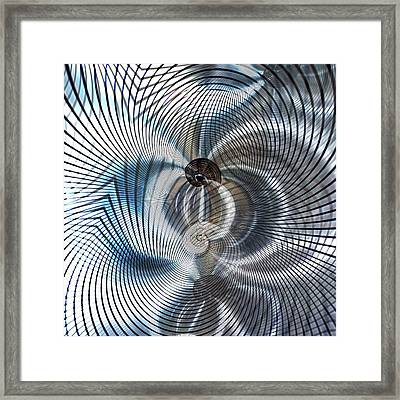 Metal Space 9 Framed Print by Philip Openshaw