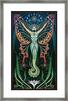 Metamorphosis Framed Print by Cristina McAllister