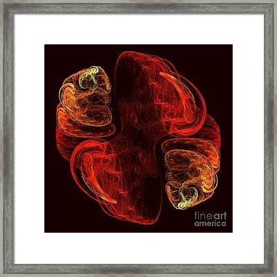 Metamorphosis Framed Print by Oni H