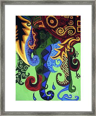 Metaphysical Fauna Framed Print by Genevieve Esson