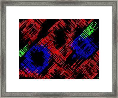 Methodical Framed Print by Will Borden