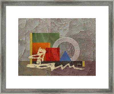 Metro Framed Print by Gordon Beck