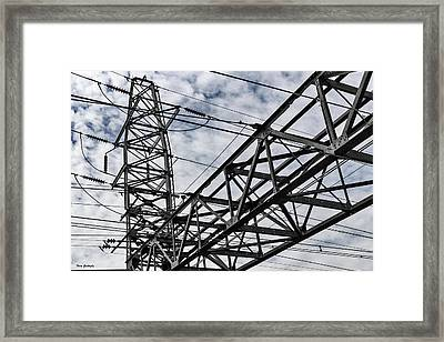 Metro North Power Framed Print by Fran Gallogly