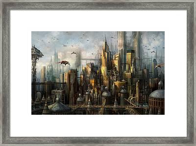 Metropolis Framed Print by Philip Straub