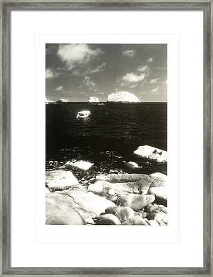 Mexican Seascape Framed Print by Jerry McElroy