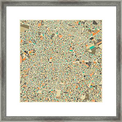 Mexico City Framed Print by Jazzberry Blue