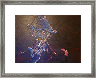 Mi Atardecer Framed Print by Andres Garcia-Velez