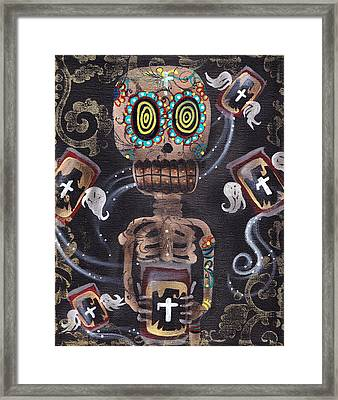 Mi Cerveza Framed Print by  Abril Andrade Griffith