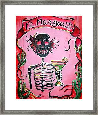 Mi Margarita Framed Print by Heather Calderon