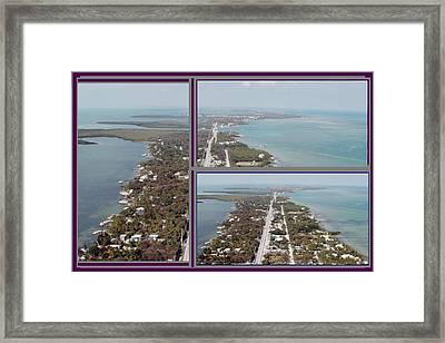 Miami Heat Located 90 Miles South Of Miami On The Island Chain Of Islamorada Framed Print by Navin Joshi