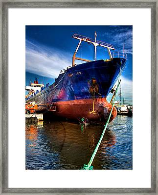 Miami River Framed Print by William Wetmore