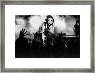 Listen Like Thieves Framed Print by Sean Davey