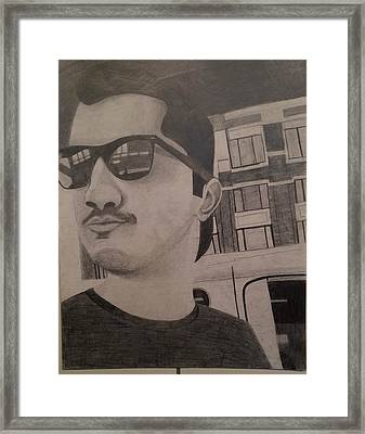 Michael IIi Framed Print by Courtney Coleman