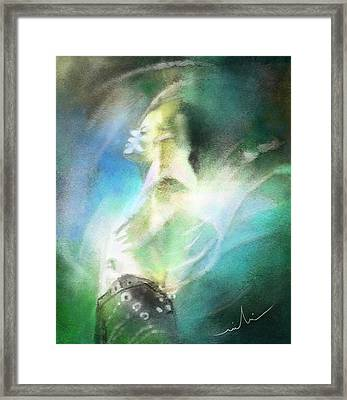 Michael Jackson 15 Framed Print by Miki De Goodaboom