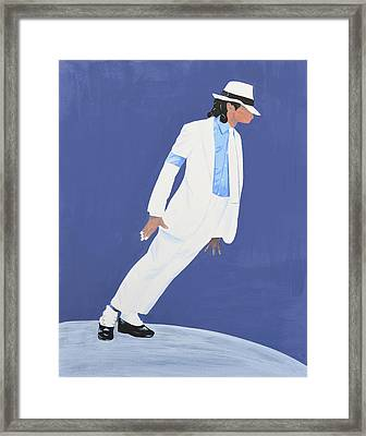 Michael Jackson Smooth Criminal Framed Print by Deborah Rawles