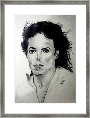 Michael Framed Print by LeeAnn Alexander