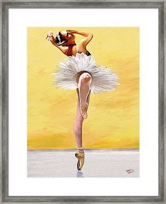 Michele Wiles Framed Print by James Shepherd