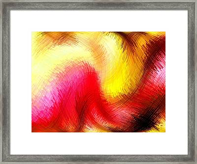 Micro Linear 2 Framed Print by Will Borden
