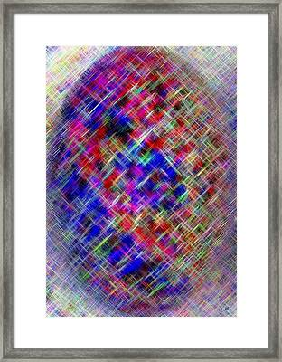 Micro Linear 4 Framed Print by Will Borden