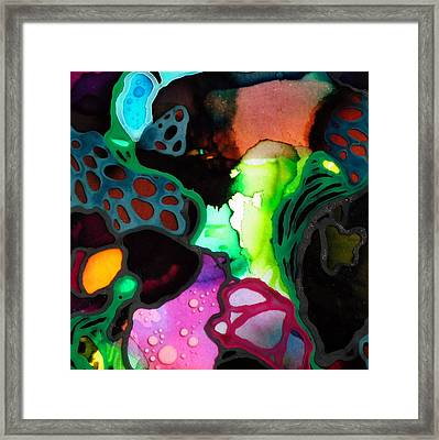 Microscopic World #2 Framed Print by Angela McKenzie