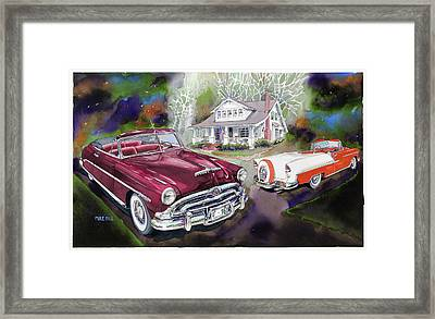Mid Century Classics Framed Print by Mike Hill