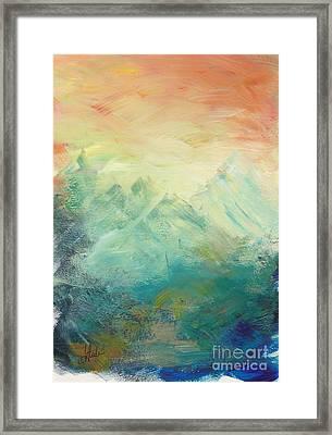 Middle Earth Framed Print by Tina Steele Penn