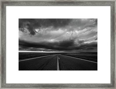 Middle Of Somewhere Framed Print by Thomas Zimmerman