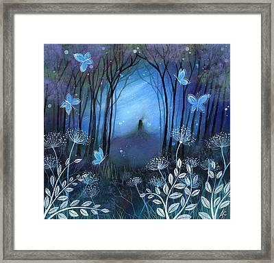Midnight Framed Print by Amanda Clark
