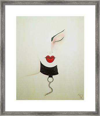 Midnight Framed Print by Bridget Dedyuhina-Rymell